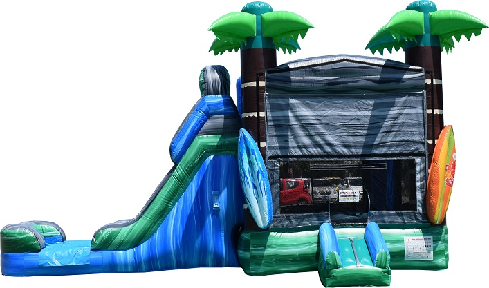 Rent a tropical themed bounce house in Tinley Park IL
