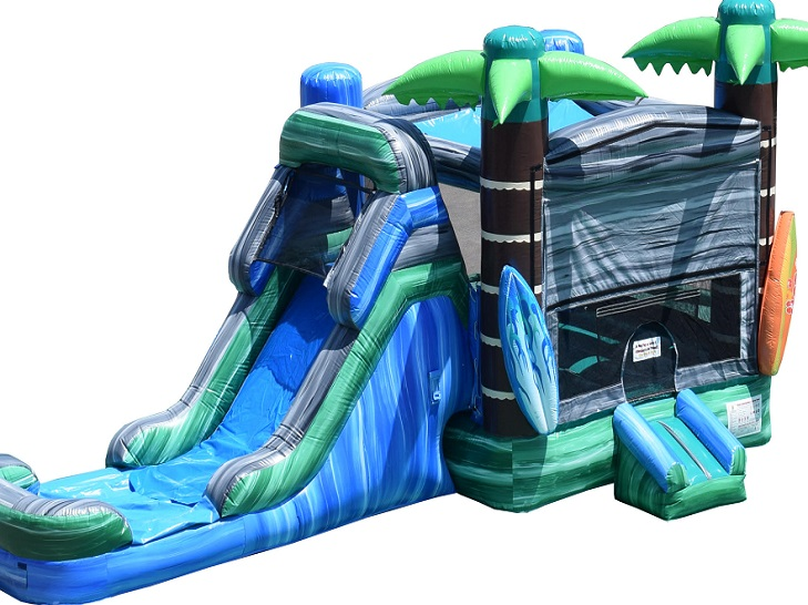 Tropical Party Bounce House Rental Orland Park IL